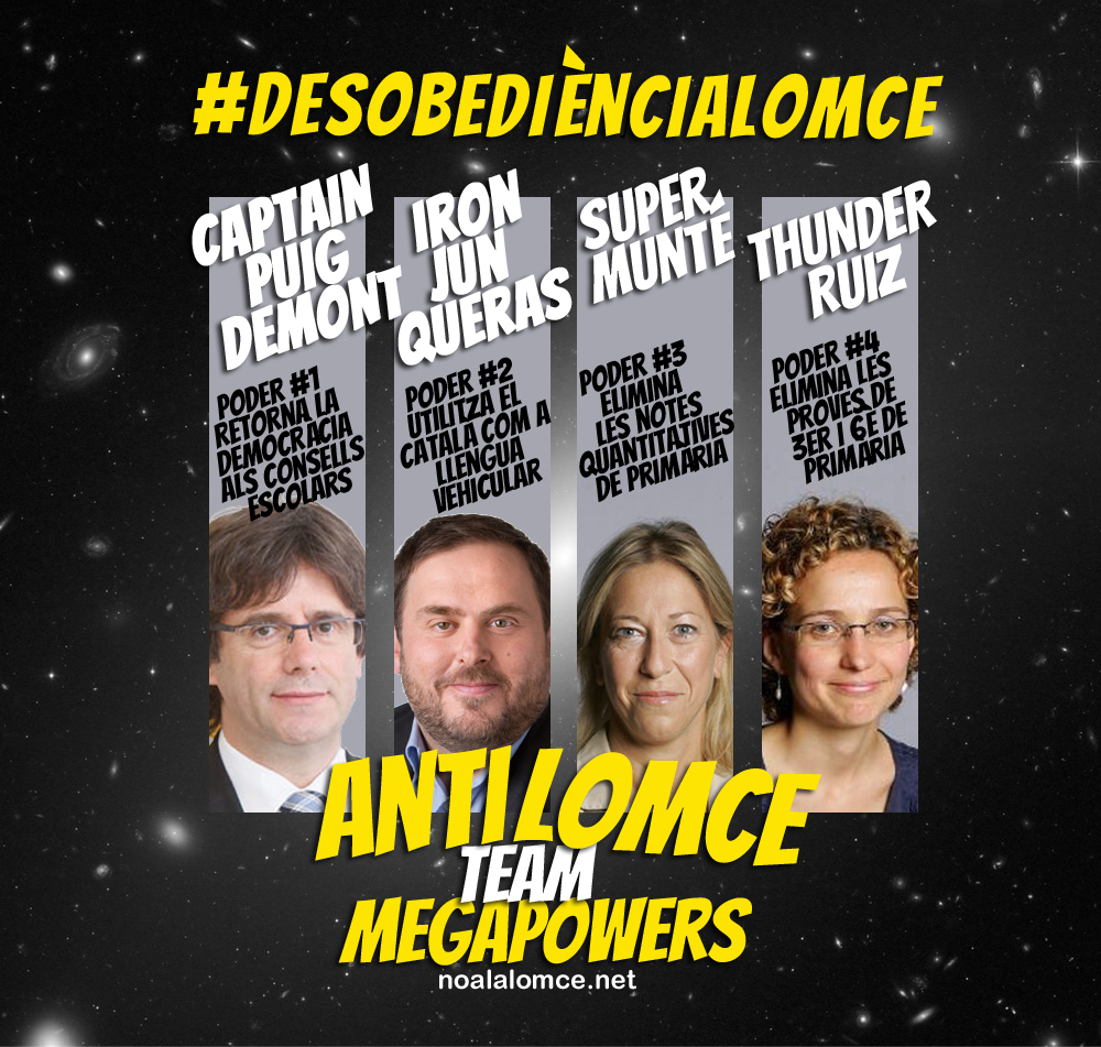 DesobedienciaLomce Govern