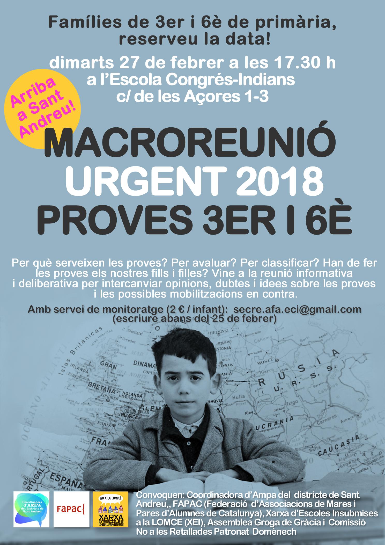 Megareunio Sant Andreu 2018